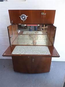 Vintage Cocktail Cabinet 1950s 1960s Drinks Bar Retro ...