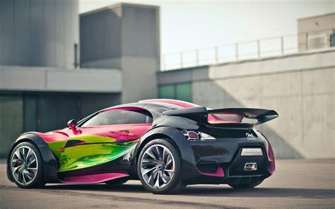 citroen supercar citroen survolt concept car 2 wallpaper hd car wallpapers