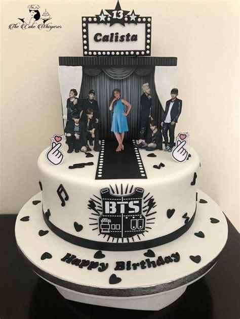 bts theme korean pop band rowena  cake whisperer