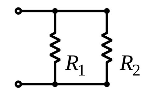 File Two Resistors Parallel Svg Wikimedia Commons