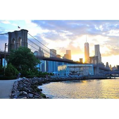 Img: Brooklyn Bridge Park Sunset - Dumbo NYC