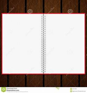 Blank Notebook On Old Wood Background Stock Photos - Image ...