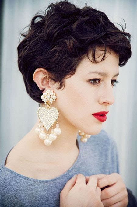great short curly haircut ideas for round faces hairstyles and haircuts lovely hairstyles com