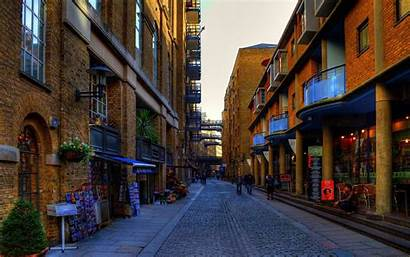 Street London Building Place Town Wall Background