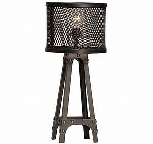 Spencer Industrial Table Lamp