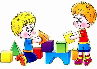 Clipart Blocks Preschool Student Cooperation Goodstart Transparent
