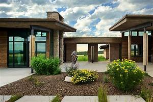 Home On Earth : visionary residence in idaho comprised of rammed earth ~ Markanthonyermac.com Haus und Dekorationen