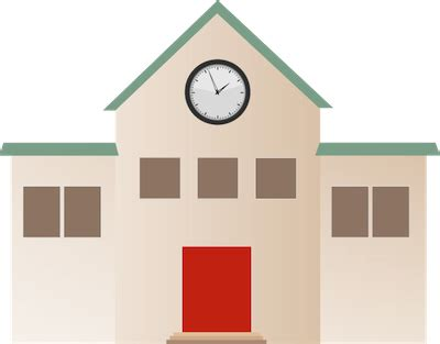 School Building Graphic