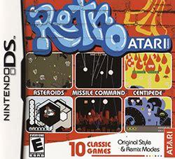 retro games wikipedia retro atari classics
