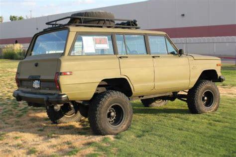 sell  jeep grand wagoneer   custom  el paso