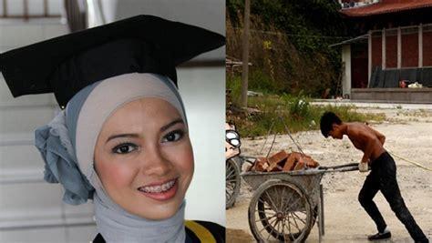 Kisah Nyata ! Berjuang Jadi Kuli Demi Calon Istri Kuliah