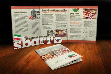 corporate franchise  page brochure brochure design