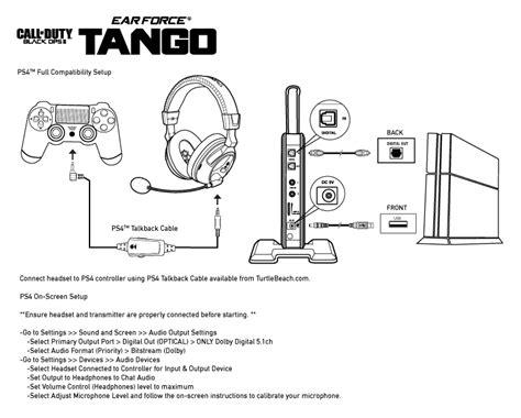 4 Pin Handset Wiring Diagram by Ps4 Setup Diagram Turtle