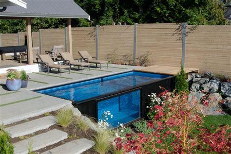 Pool Aus Container Bauen by Container Pool Selber Bauen Wohn Design
