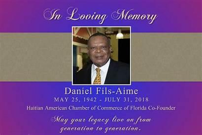 Fils Aime Founder Daniel Loss Mourns Chamber