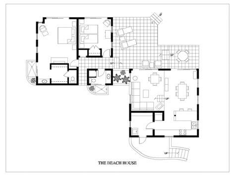 Beach House Floor Plan Beach House Home Plans, Floor Plans