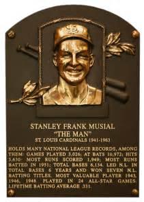 Stan Musial Baseball Hall of Fame