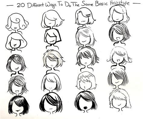 twenty ways basic hairstyle  neongenesisevarei