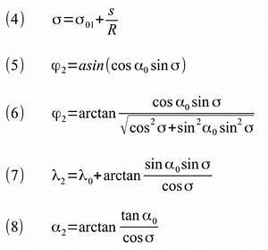 Auflagerreaktion Berechnen : winkel winkelberechnung in der sph rischen trigonometrie ~ Themetempest.com Abrechnung