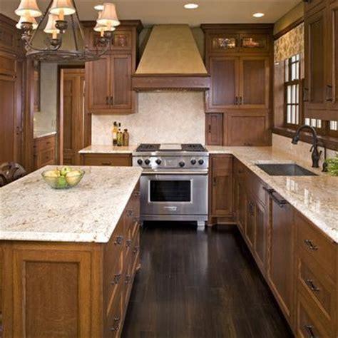 kitchen floor ideas with dark cabinets oak cabinets dark floor design ideas pictures remodel