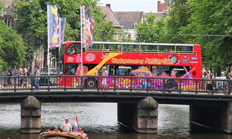 Bateau Mouche Groupon by City Sightseeing Amsterdam D 232 S 12 99 Amsterdam Nl