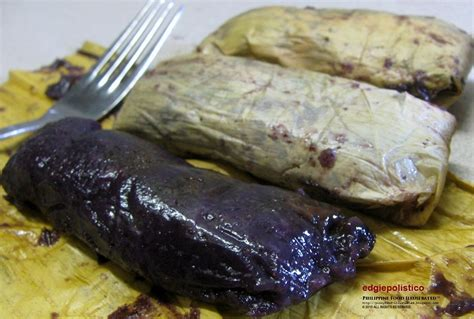 phil cuisine philippine food illustrated suman maruecos