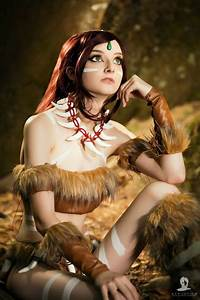 Such a beautiful Nidalee cosplay from League of Legends ...