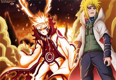 Naruto Kurama And Edo Minato By Thealm On Deviantart