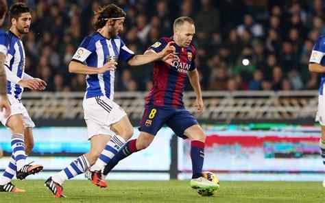 Highlights of Real Sociedad v FC Barcelona