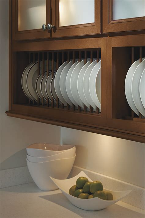 cabinet plate rack homecrest cabinetry