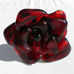 Rose In Glas : hand crafted extra large long stemmed red glass rose forever untamed rose 39 39 by untamed rose ~ Frokenaadalensverden.com Haus und Dekorationen