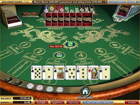pai gow tiles house way 100 pai gow tiles house way how to play pai gow