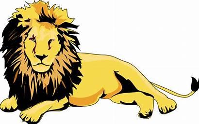 Lion Clker Clip Clipart Vector Svg Domain