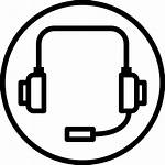 Icon Headset Icons Lineal