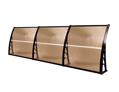 mcombo  window awning outdoor polycarbonate front