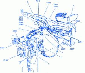 Gmc Savana 2 5 2004 Engine Electrical Circuit Wiring