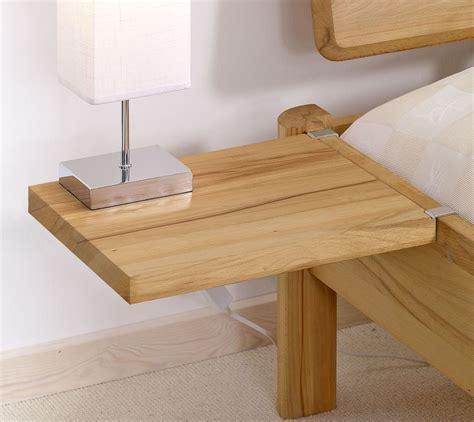 Bett Nachttisch Einhängen by Nachttisch Aus Eiche Zum Einh 228 Ngen Pavia Betten De