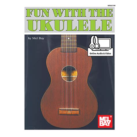 Over 1000 songs you can learn to play! Fun with the Ukulele (Book & Online Audio/Video)   Music is Elementary
