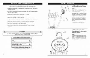 Warning  Assembly Instructions  How To Use Quick Start