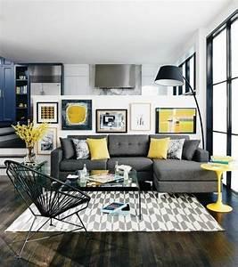 les 25 meilleures idees de la categorie canape gris fonce With tapis design avec le plus grand canapé du monde