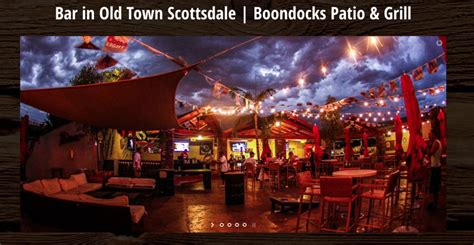 boondock patio grill scottsdale events in scottsdale