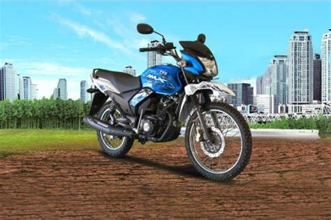Tvs Max 125 Semi Trail Picture by Tvs Max 125 Semi Trail Images Check Out Design Styling