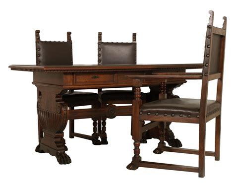 tavolo scrivania antico antico studio ufficio rinascimento scrittoio scrivania con