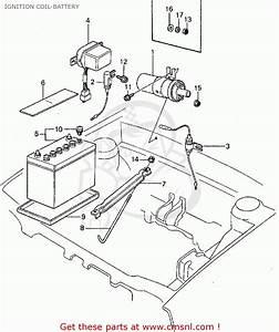 Honda Civic 1982  C  4dr1500  Ka Kh Kl  Ignition Coil