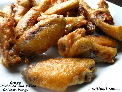 how to par boil chicken home cooking in montana crispy parboiled baked chicken wings i with korean sauce and bonus