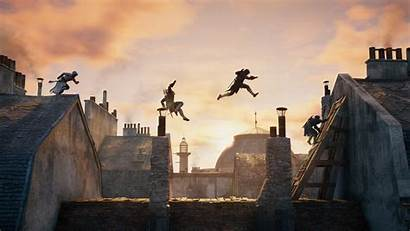 Parkour Creed Rooftops Games Sequence Desktop Wallpapers