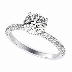 diamond engagement ring round cut sku rd0023 90210 With round diamond wedding rings