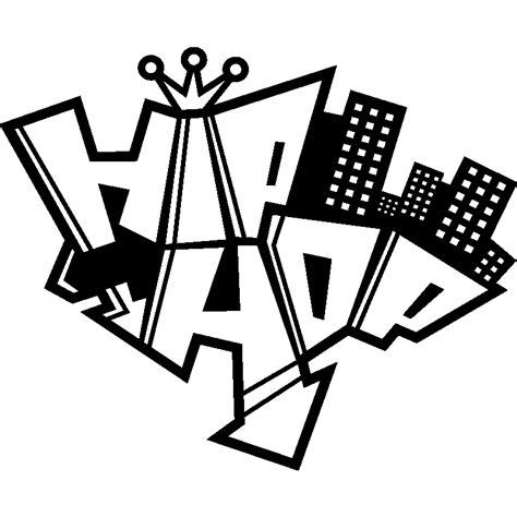 poser du carrelage mural cuisine hip hop graffiti stickers mural musique