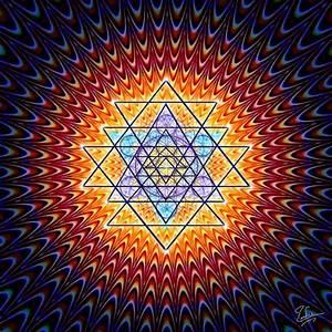 blume des lebens version lsd heilige geometrie sacred