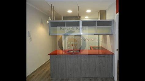 reforma de piso pequeno  cocina americana